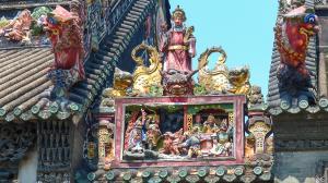Chine-Canton-Temple de la famille Chen