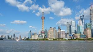 Chine-Shanghaï-Vue du bund 1