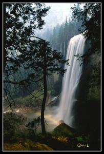 Vernal Fall-Yosemite NP