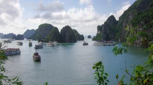 Vietnam-Baie d'Along maritime