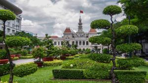 Vietnam-Hô Chi Minh-Ville-Hotel de ville